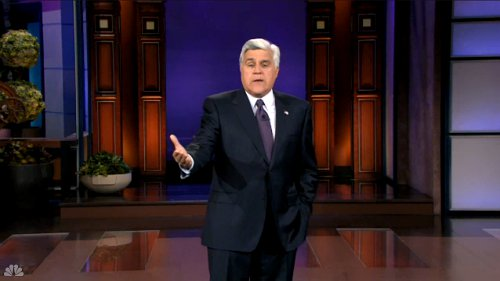 Video: Jay Leno Takes a Jab at NBC Over Reduced Budget on 'Tonight Show'