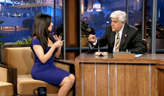 Video: Jay Leno Tests Kim Kardashian's Engagement Ring on Fire