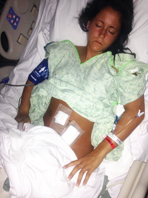 Jenelle Evans Is Recovering After Emergency Surgery