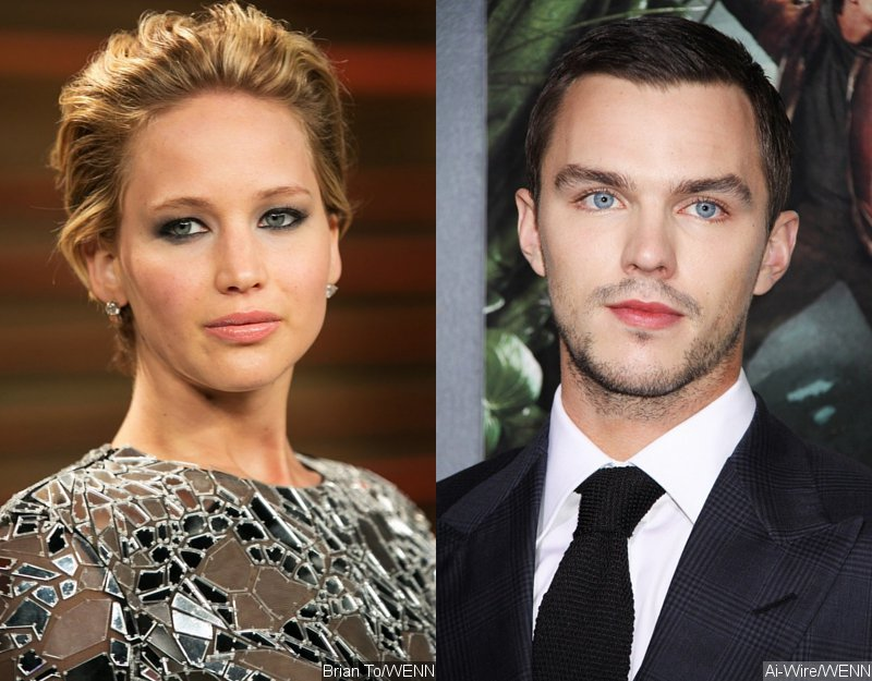 Jennifer Lawrence Says She and Nicholas Hoult 'Ignore Each Other' When They're Busy