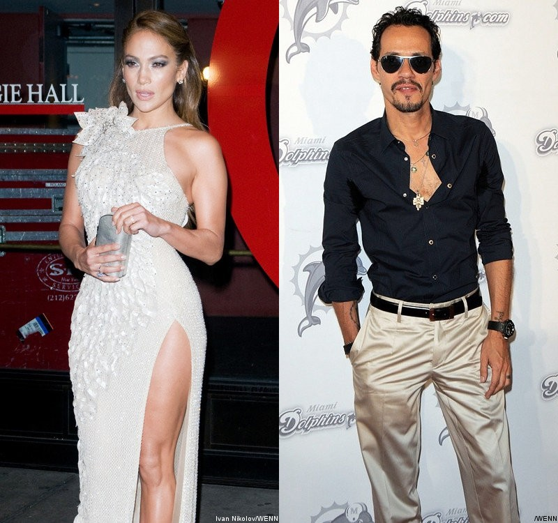 Jennifer Lopez Allegedly Spent a Night Together With Marc Anthony in Puerto Rico