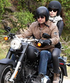 Jessica Biel Riding Motorbike With Rumored New Man Gerard Butler