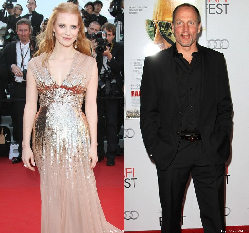 Jessica Chastain and Woody Harrelson Are PETA's 2012 Sexiest Vegetarians