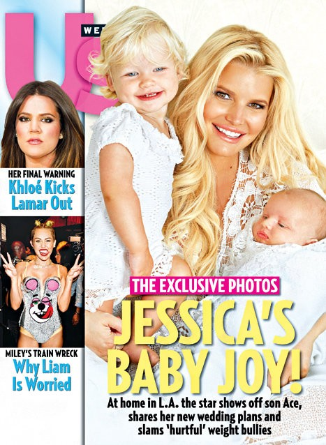 Jessica Simpson Debuts Son Ace Knute