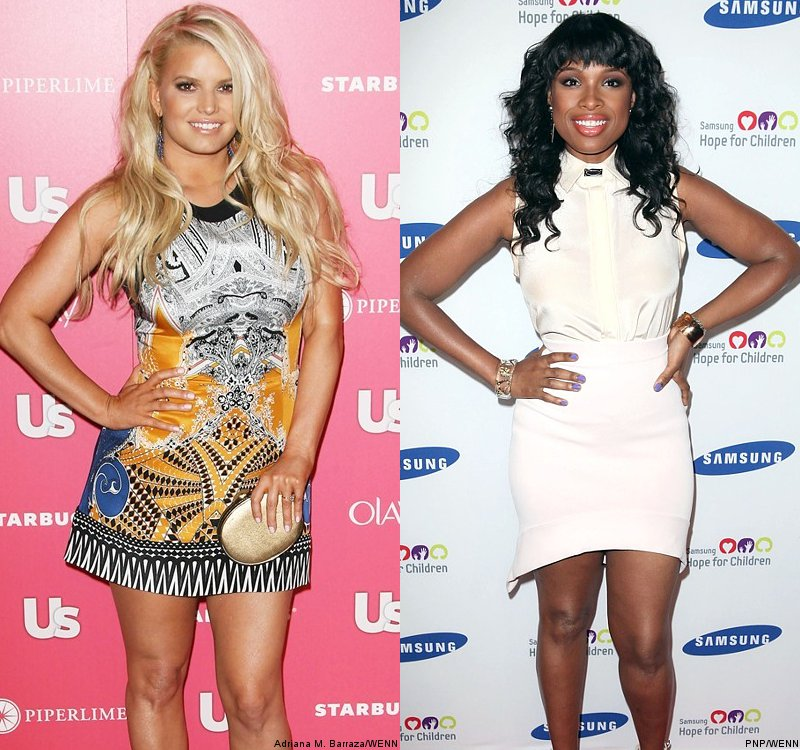Jessica Simpson Gets Advice From Jennifer Hudson on How to Lose Post-Baby Weight