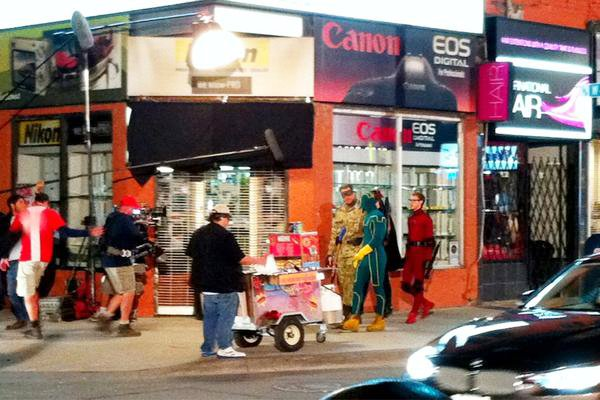 First Look at Jim Carrey as Colonel Stars on 'Kick-Ass 2' Set