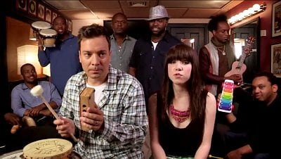 Video: Jimmy Fallon and Carly Rae Jepsen's Stripped Down Version of 'Call Me Maybe'