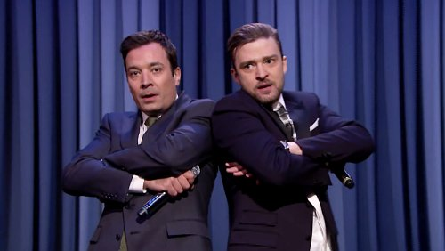 Video: Jimmy Fallon and Justin Timberlake Join Forces for 'History of Rap Part 5'