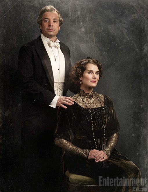 Video: Jimmy Fallon Spoofs 'Downton Abbey', Taps Brooke Shields as Earl's Wife