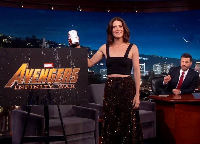 Watch Cobie Smulders Spill the Beans on 'Avengers: Infinity Wars'