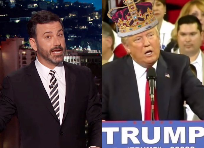 Jimmy Kimmel Suggests That We Make Trump King: Desperate Times Call for Desperate Measures