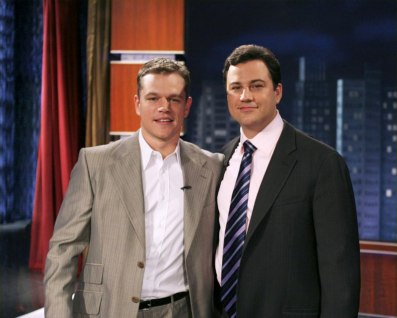 Jimmy Kimmel to Interview Matt Damon After 10 Years of Fake Feud
