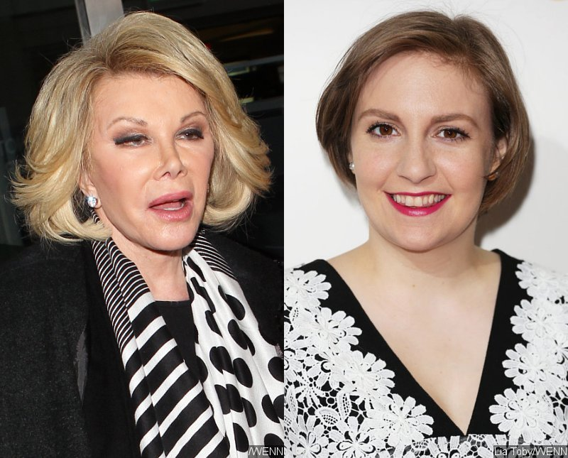 Joan Rivers Slams Lena Dunham's Body Image Message: 'Stay Fat, Get Diabetes'