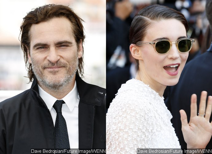 Joaquin Phoenix and Rooney Mara Hold Hands at Cannes Amid Romance Rumors