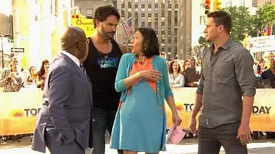 'Today' Video: Joe Manganiello Grinds on Ann Curry, Channing Tatum Shows Stripper Moves