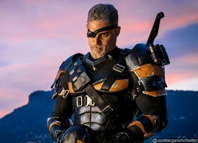 Joe Manganiello Shares First Look at Deathstroke