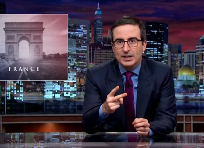 Watch John Oliver Address Paris Attacks With Expletive-Laden Rant on 'Last Week Tonight'