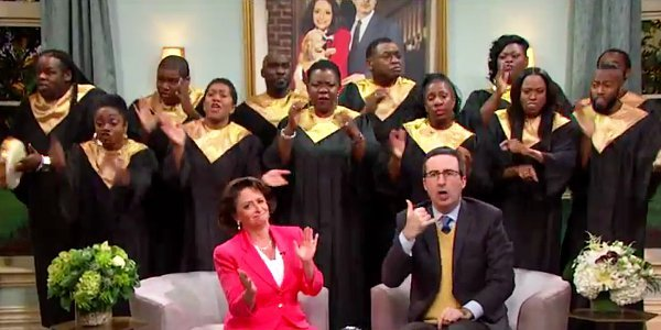 Video: John Oliver Takes on Shady Televangelists by Starting His Own Church