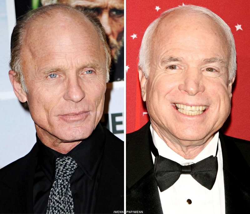 John McCain Portrayed by Ed Harris in 'Game Change'