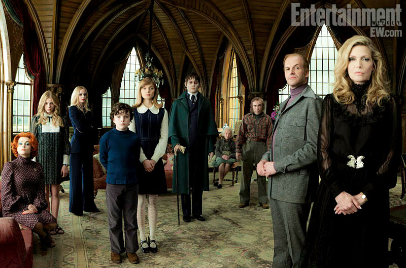 DARK SHADOWS First Cast Photo