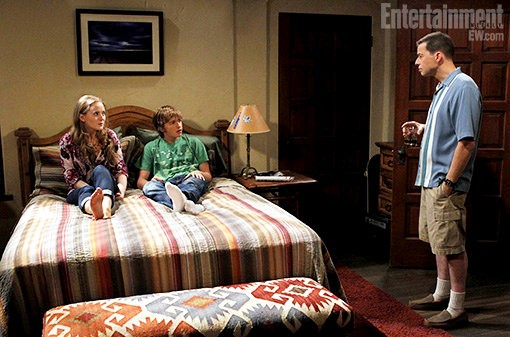 Photo: Jon Cryer Channels Charlie Harper on 'Two and a Half Men'