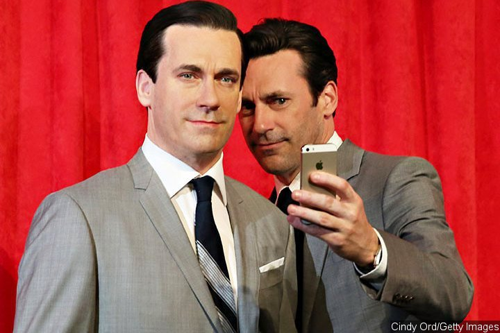 Jon Hamm Wax Figure Unveiled at Madame Tussauds