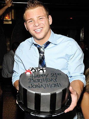 Jonathan Lipnicki Parties in Vegas to Celebrate 21st Birthday