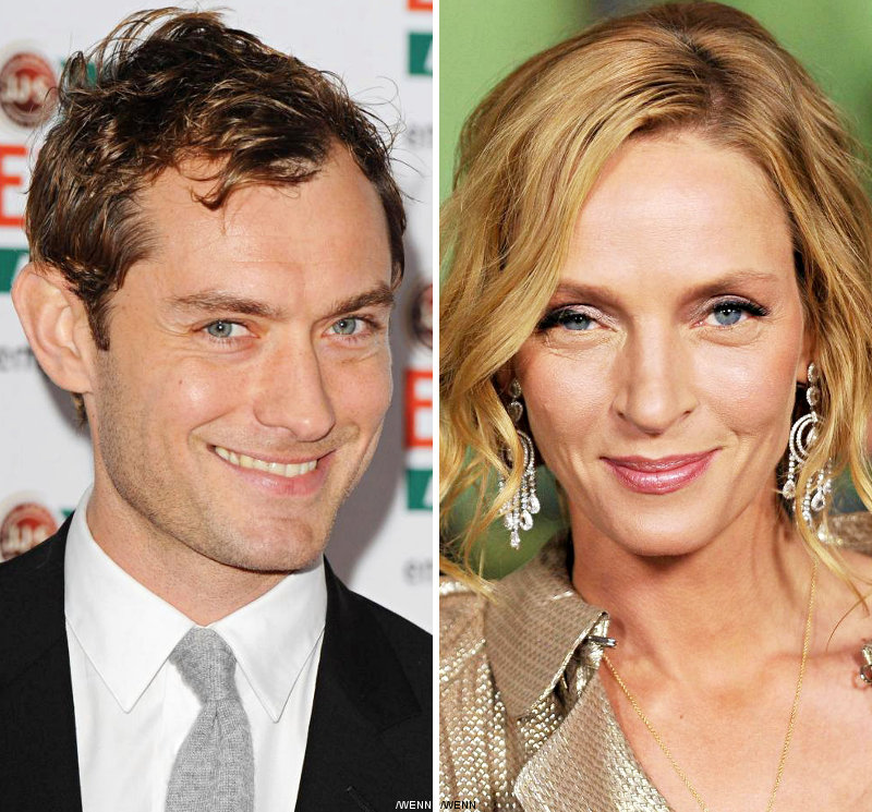 Jude Law and Uma Thurman Selected as Cannes Jury