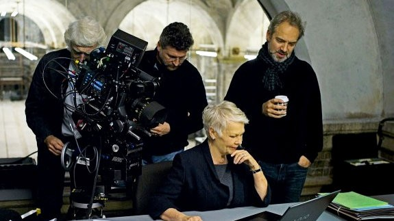 First Image of Judi Dench as James Bond's Superior, M, in 'Skyfall'