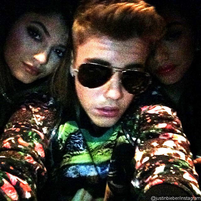 Justin Bieber Posts a Photo of Him Hanging Out With Kylie Jenner in Las Vegas