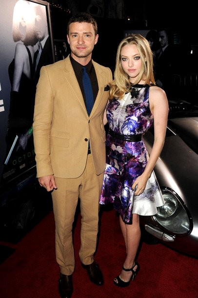 Justin Timberlake and Amanda Seyfried  Couple Up at 'In Time' L.A. Premiere