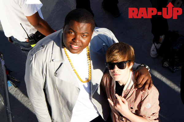 Video Shoot of Justin Bieber's 'Eenie Meenie' Feat. Sean Kingston