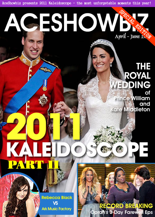 Kaleidoscope 2011: Important Events in Entertainment (Part 2/4)