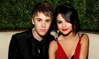 Justin and girlfriend Selena at Oscar after-party