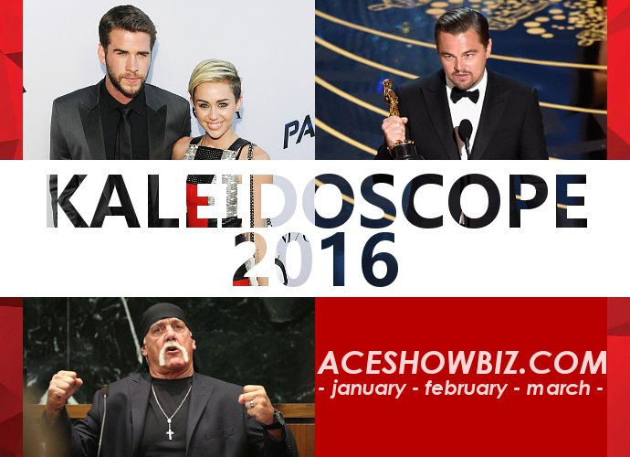 Kaleidoscope 2016: Important Events in Entertainment (Part 1/4)