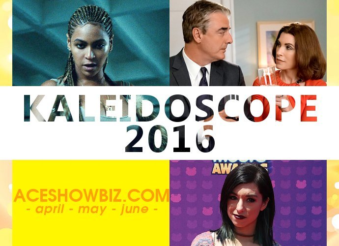Kaleidoscope 2016: Important Events in Entertainment (Part 2/4)