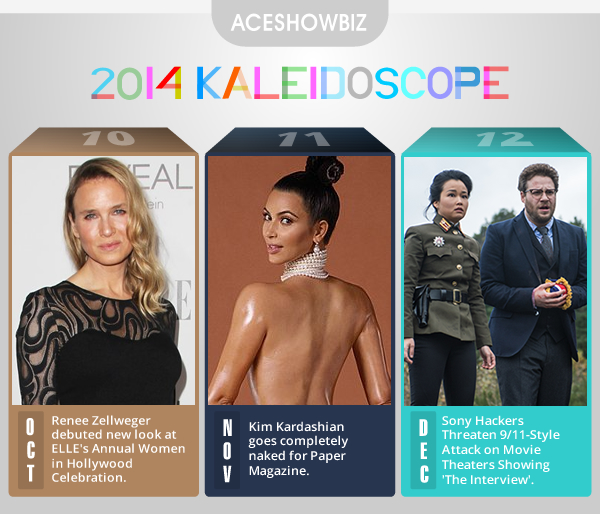 Kaleidoscope 2014: Important Events in Entertainment (Part 4/4)