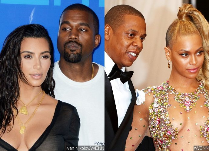 Kanye West Feels 'Infuriated' With the Way Beyonce and Jay-Z Are Treating Kim Kardashian