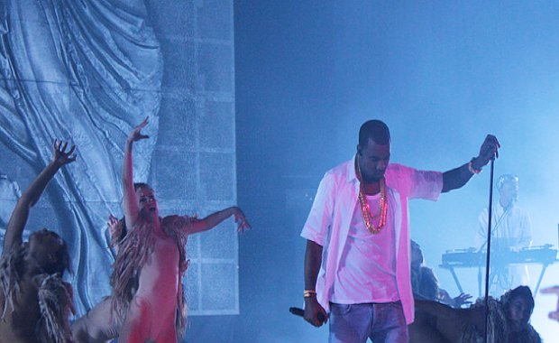 Kanye West Performs Solo Show at Revel Resort in Atlantic City