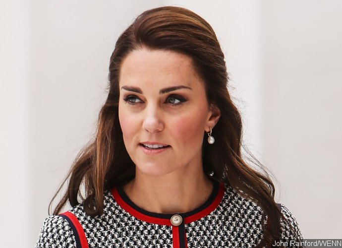 Kate Middleton Flaunts Cleavage in Lacy Dress With Daring Neckline