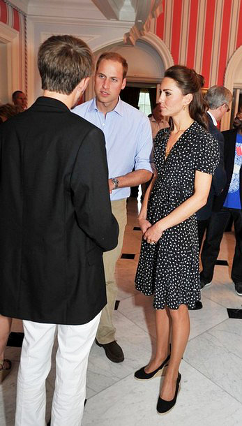 Kate Middleton Goes Casual on First Night Out in Canada