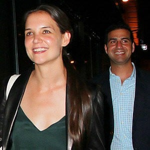 Katie Holmes All Smiles After a Dinner Date