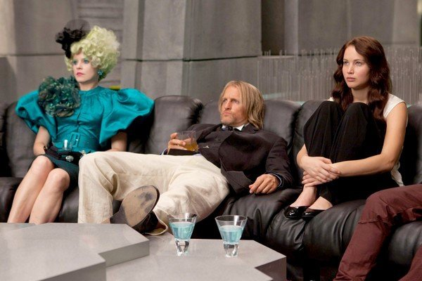 Katniss, Haymitch and Effie in New 'Hunger Games' Image