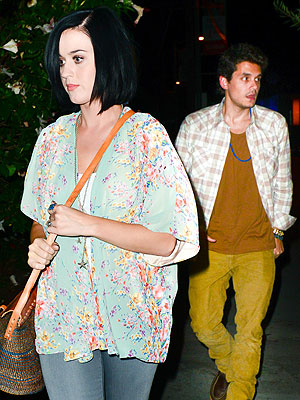 Katy Perry and John Mayer Step Out for Dinner Date in L.A.