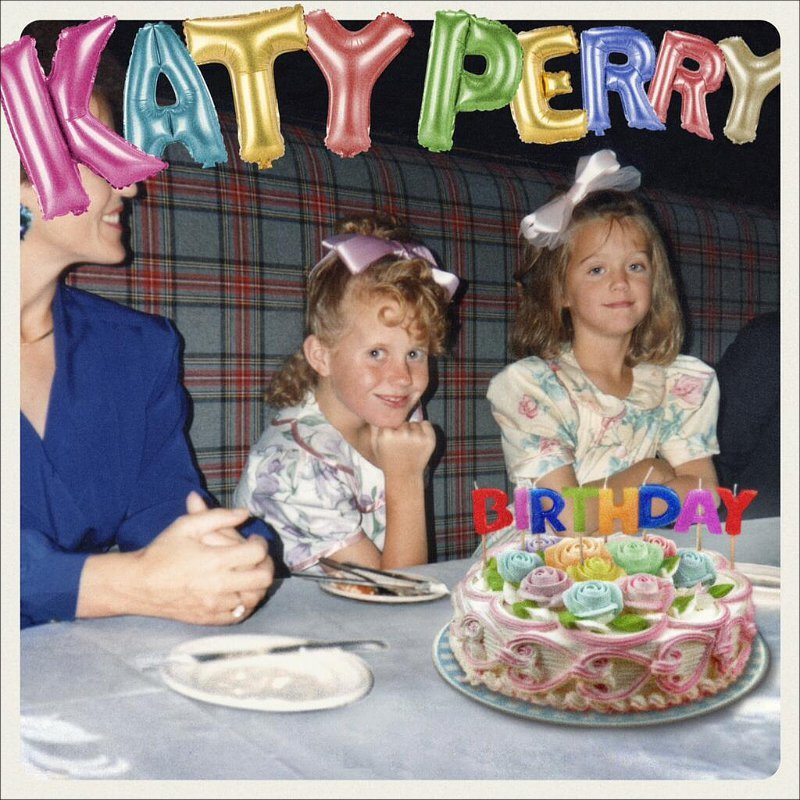 Katy Perry Reveals Cute Artwork for Fourth 'Prism' Single, 'Birthday'