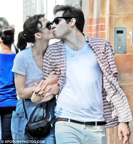 Keira Knightley Kisses Her Fiance and Shows Off Engagement Ring