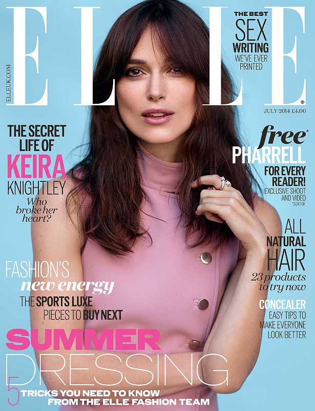 Keira Knightley Opens Up About Being Called 'Anorexic'