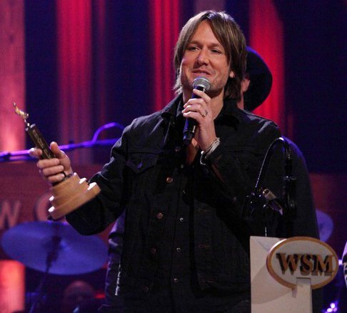 Video: Keith Urban Gets Teary During Grand Ole Opry Induction
