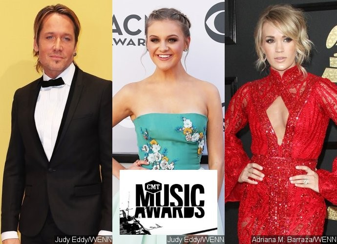 Keith Urban, Kelsea Ballerini, Carrie Underwood Lead 2017 CMT Music Awards Nominations