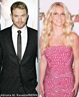 Kellan Lutz Refuses to Be Britney's Boy Toy for 'I Wanna Go' Video